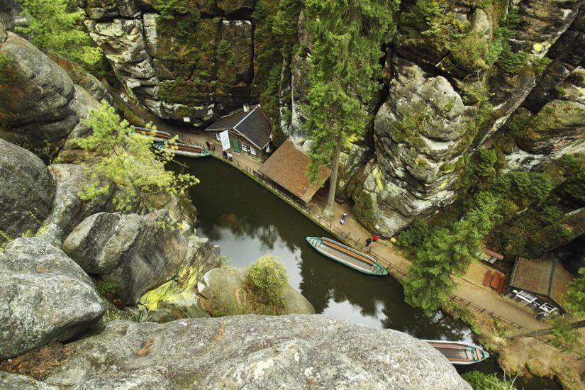 парк чешская швейцария