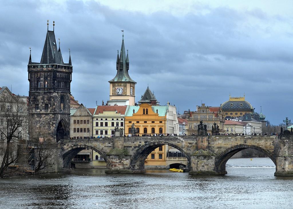интересное место в Праге