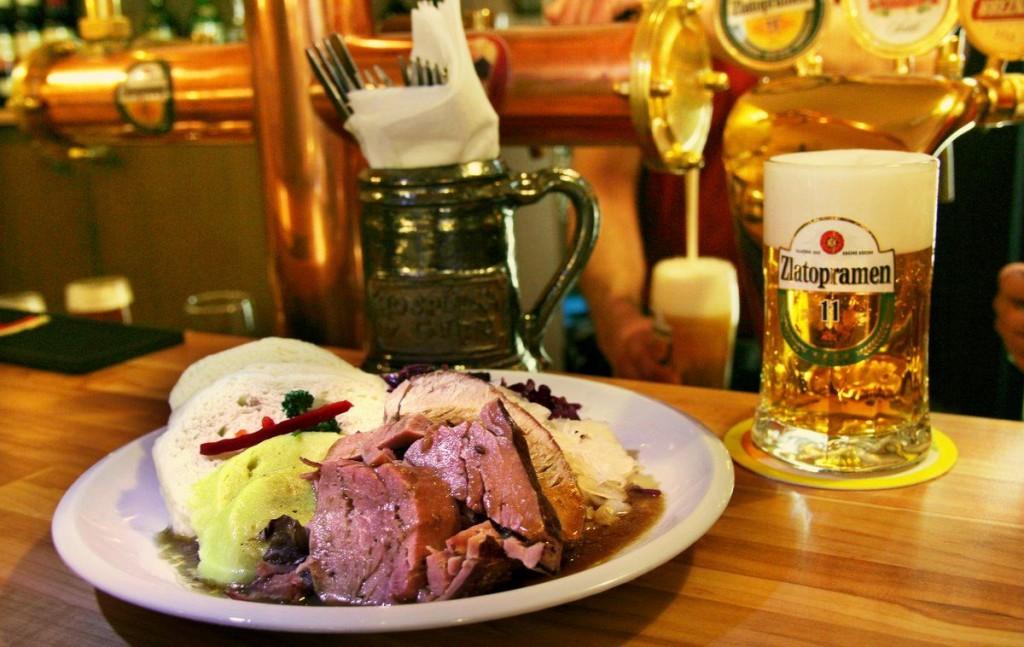 Как недорого поесть в Праге