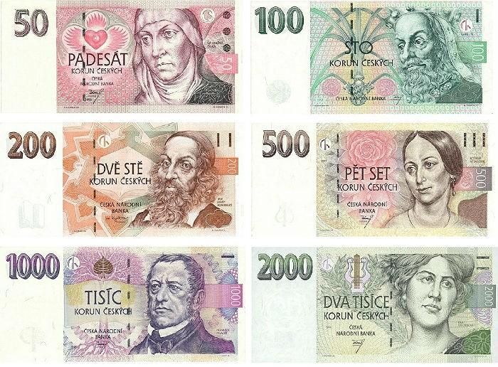 Как поменять деньги в Праге