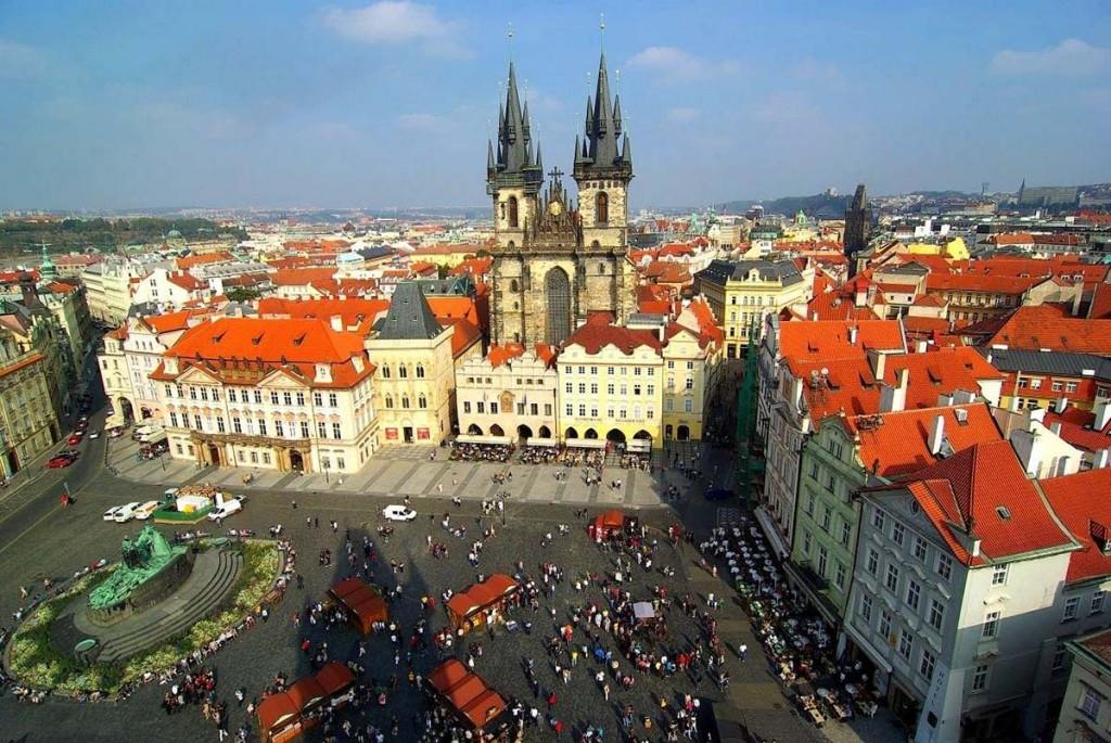 красивое место Праге