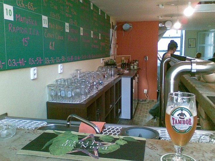 Лучшее дешевое пиво в Праге