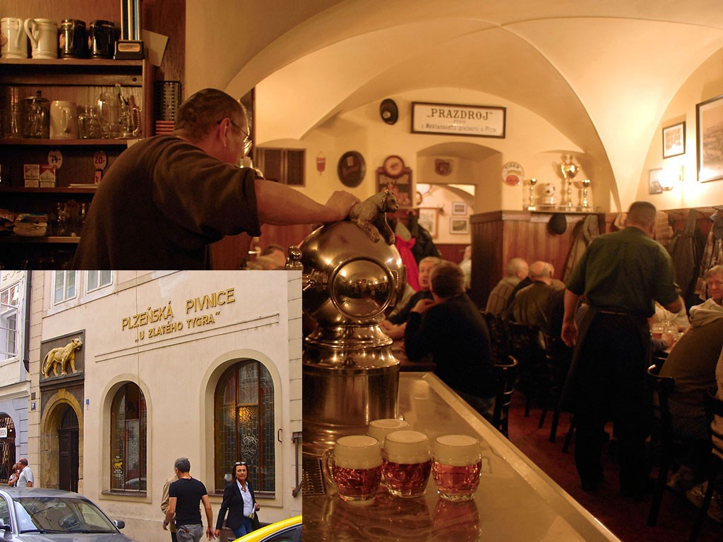 Пивные в Праге