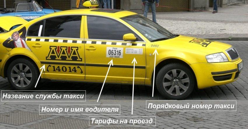 Такси в Брно