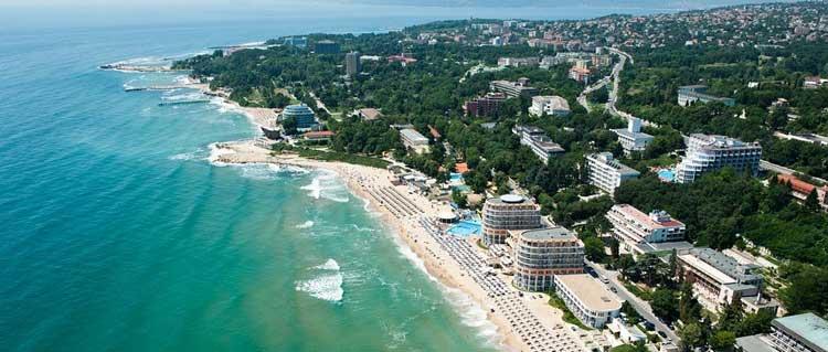 Экономный курорт св. Константин и Елена. Болгария