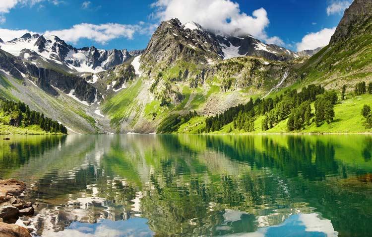 Алтай - дешевый, экологический курорт