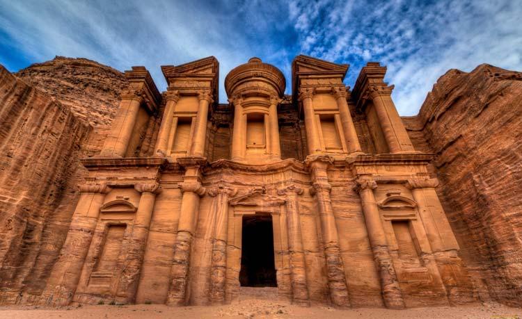 Иордания - древний город Петра
