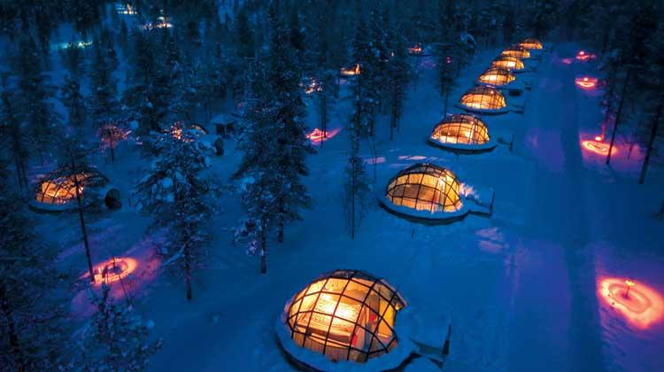 Рованиеми - сказочный новогодний мир для детей в Финляндии