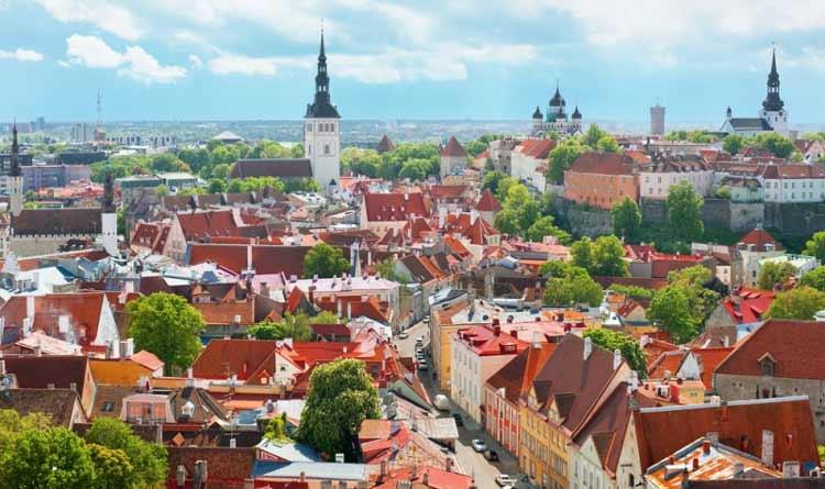 Таллинн - архитектура 14 века по скромной цене