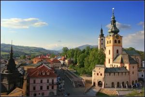 Банска-бистрица - город в центральной Словакии, центр Банскобистрицкого края