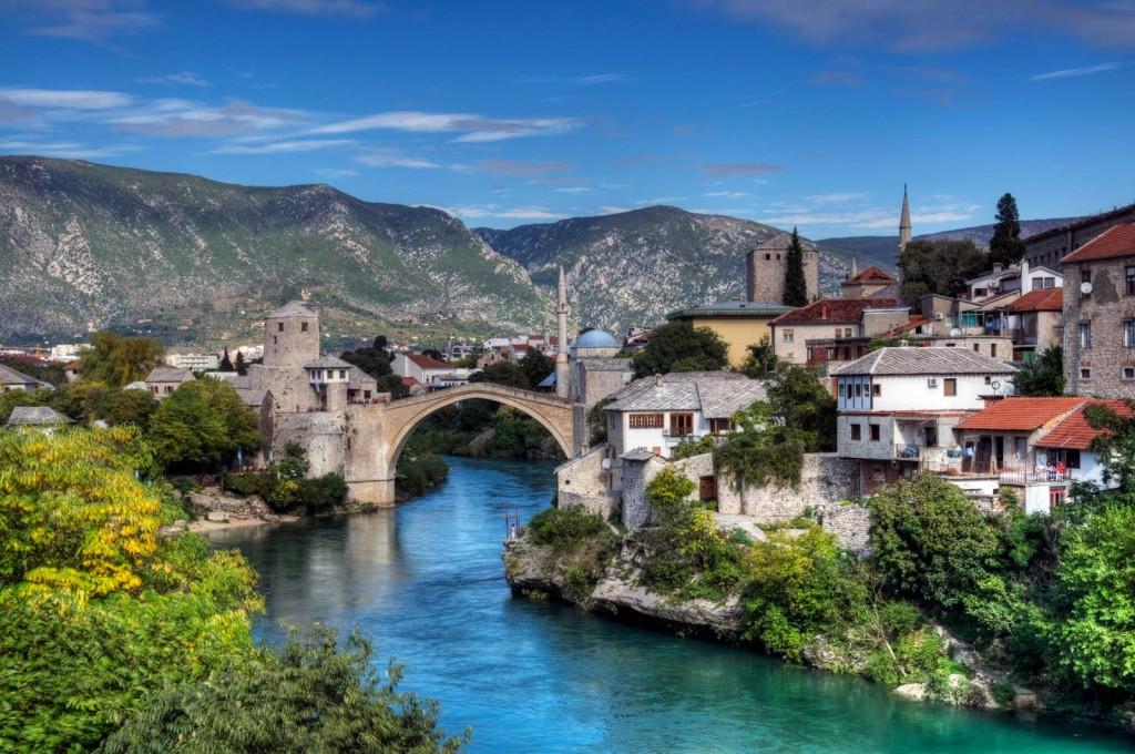 Мостар - город в Боснии и Герцеговине