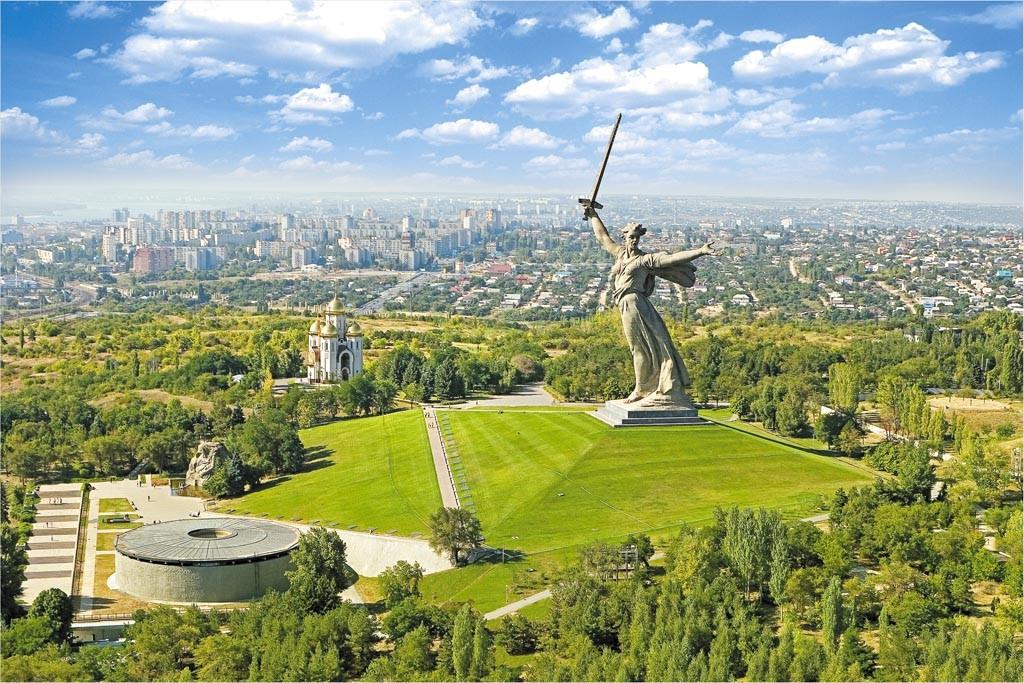 Монумент «Родина-мать зовёт!» на Мамаевом кургане, Волгоград