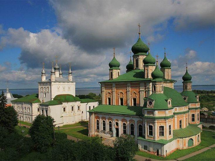 Горицкий мужской монастырь Переславль-Залесский, Ярославская обл.