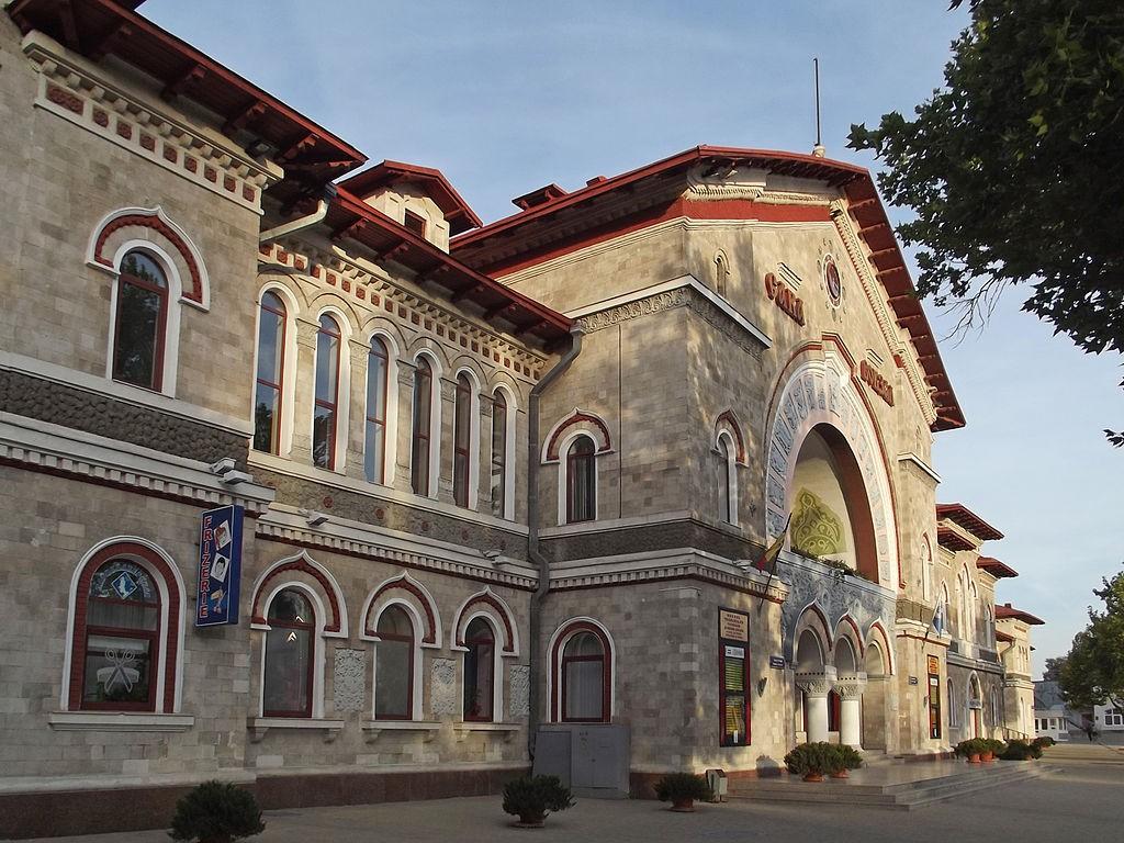 Железнодорожный вокзал в Кишиневе