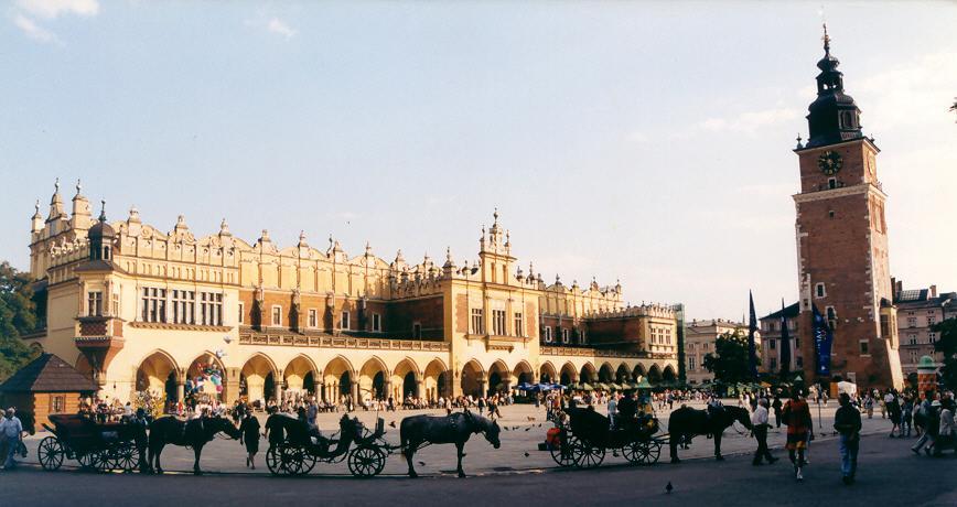 Столичный королевский город Краков — город в Польше на левом берегу Вислы