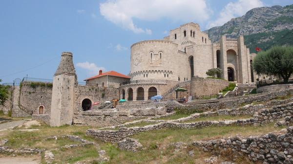 Круя - город в Албании