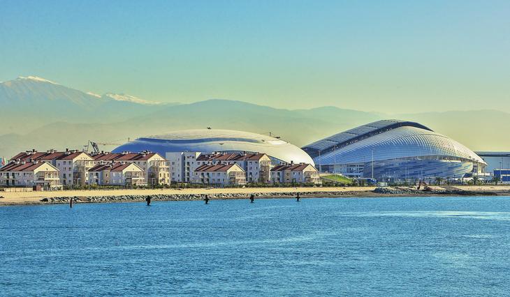 Олимпийский стадион «Фишт» и ледовый дворец «Большой»