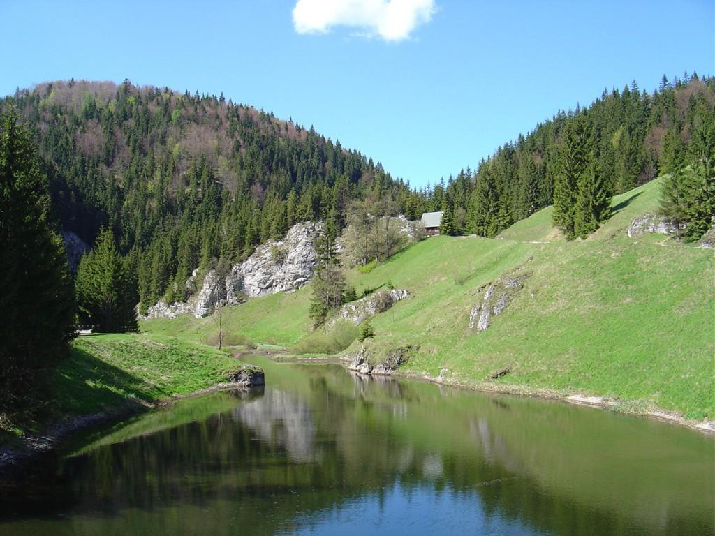 Словацкий Рай - горный массив и народный парк в восточной Словакии