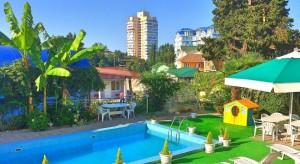 Мини-гостиница «Каравелла» в Адлере в 700 метрах от берега Черного моря