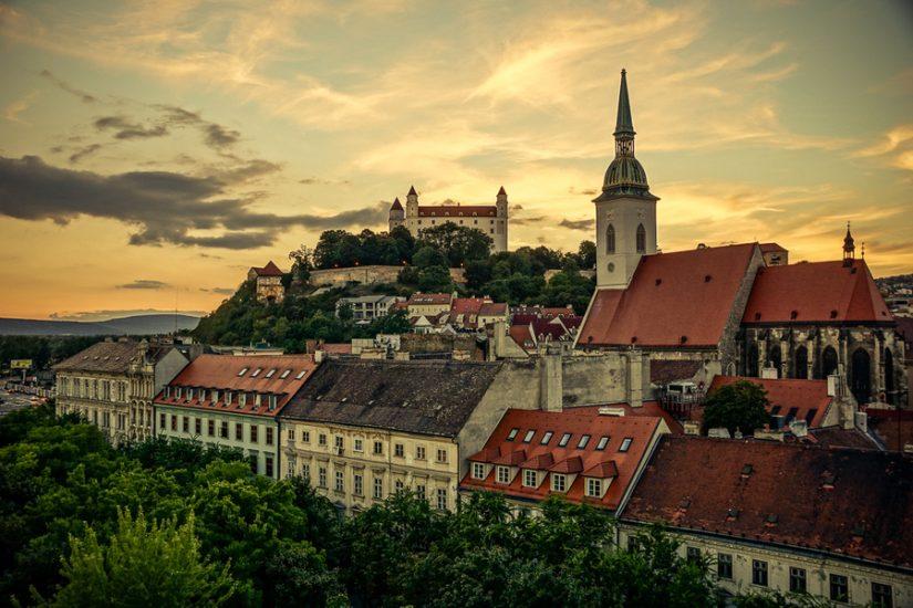 Братислава - город в Центральной Европе, столица Словакии