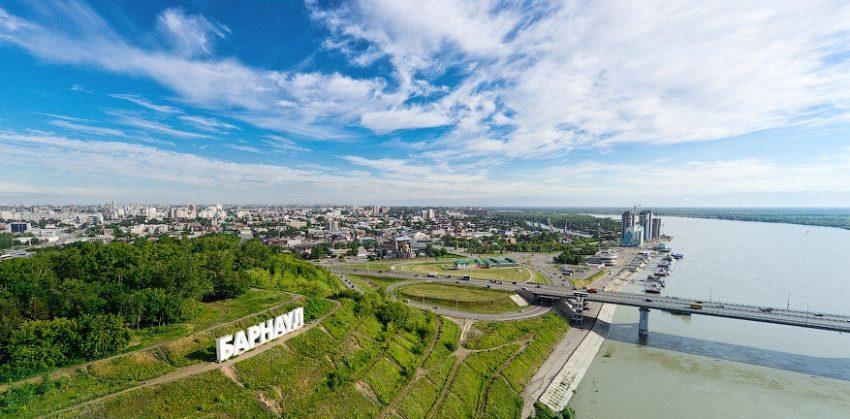 Барнау́л — город в России, административный центр Алтайского края.