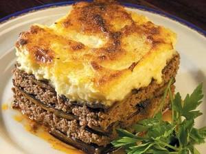 Греческое блюдо «Мусака»