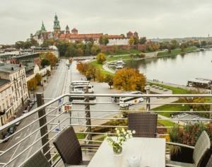 Дизайн-отель Kossak расположенный в центре Кракова.
