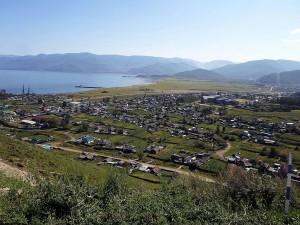 Култук - самый западный населённый пункт на побережье Байкала