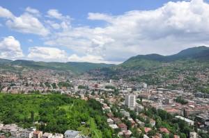 Сараево расположен в исторической области Босния