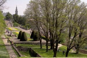 Парк Калемегдан - красивый парк в старой части Белграда (Сербия)