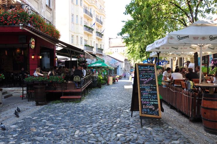 Скадарлия — старинный квартал Белграда