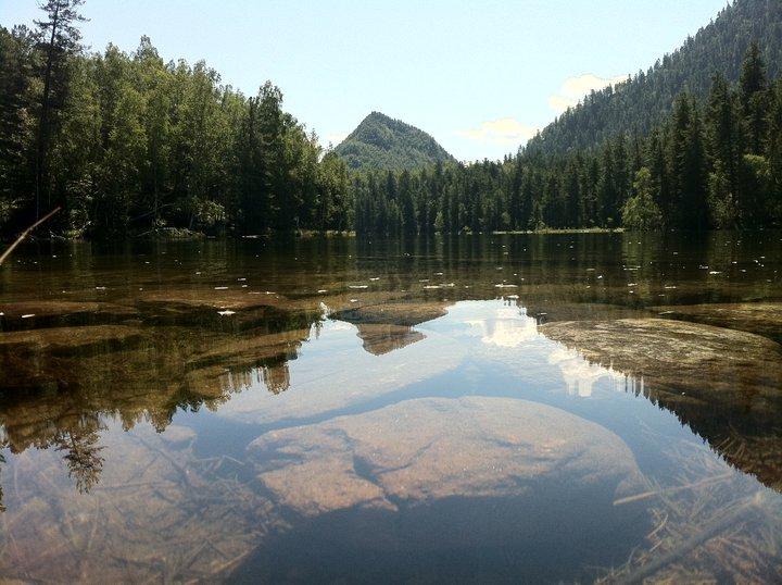 Теплые озера на Байкале