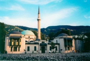 Царская мече́ть - самая старая мечеть в Сараеве, построенная по приказу султана Сулеймана в 1556 году