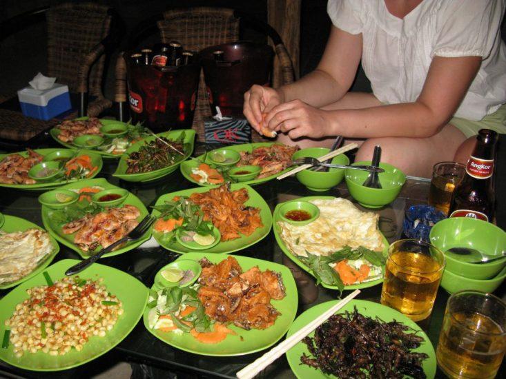Питание в Камбодже