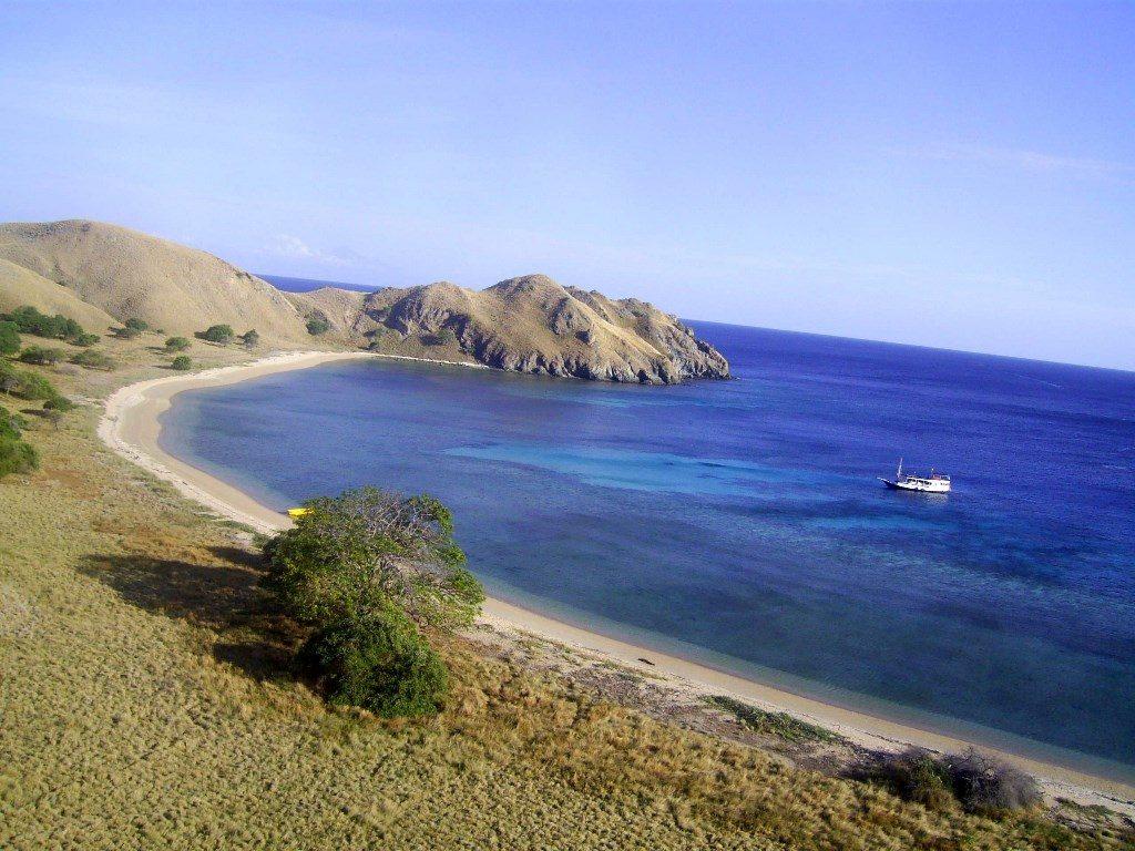 Остров Комодо в Индонезии