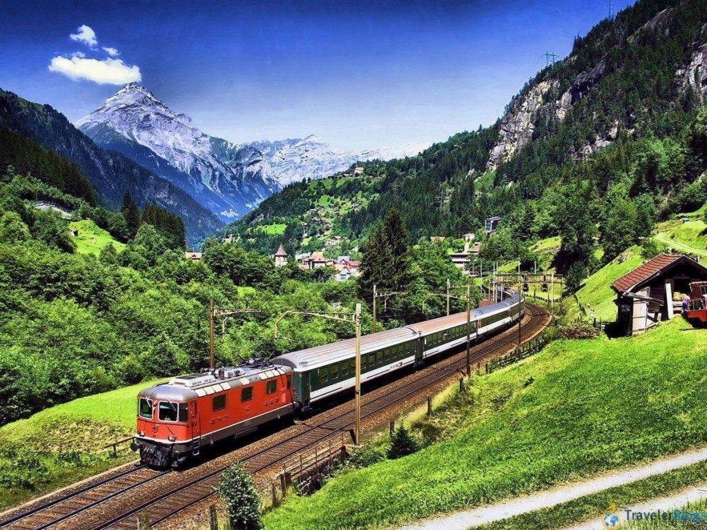 Бюджетное путешествие на поезде по Европе