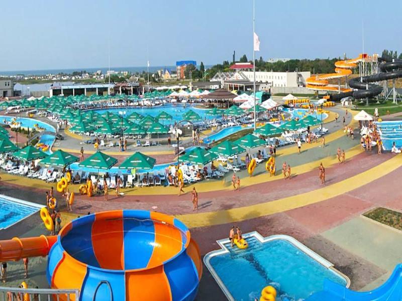 Аквапарк на Азовском побережье