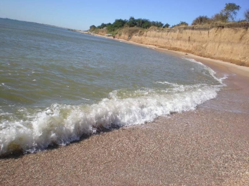 Дикие пляжи на Азовском море