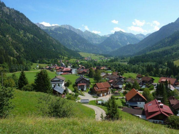 Отдых в горной деревне