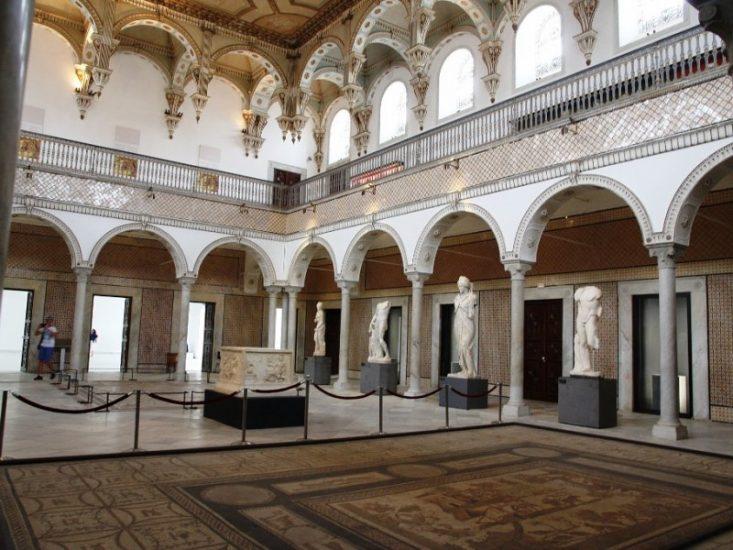 Поездка в музей Бардо в Тунисе