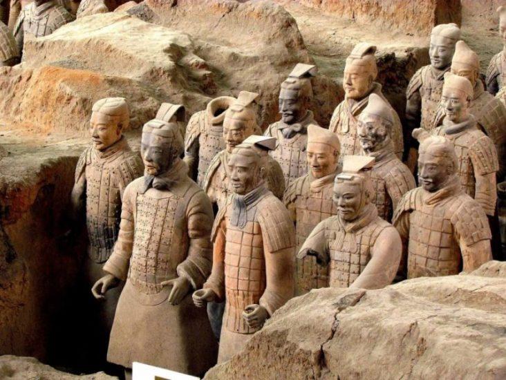 Музей терракотовых статуй в Китае