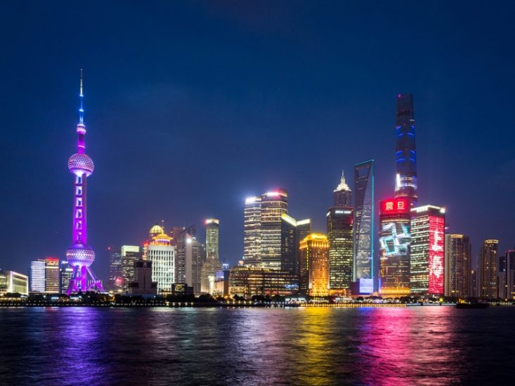 Шанхай в Китае