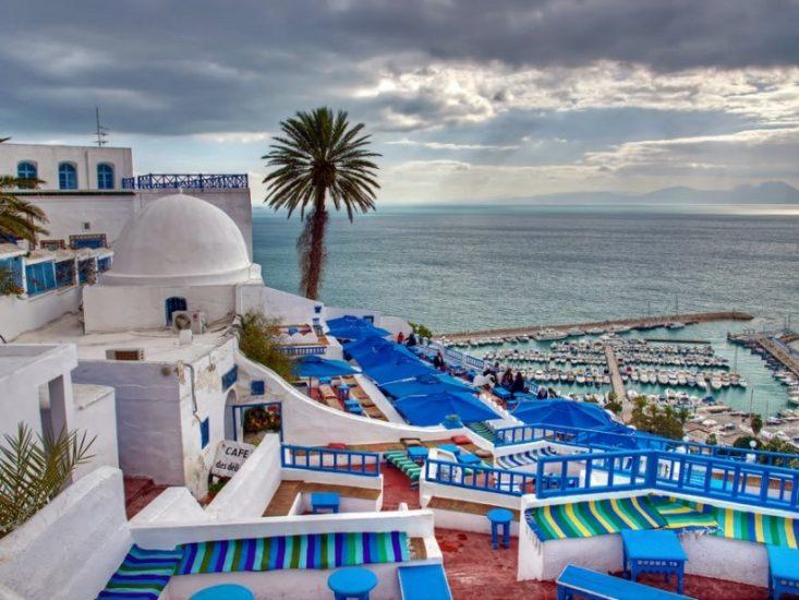 Поездка в Сиди-Бу-Саид в Тунисе
