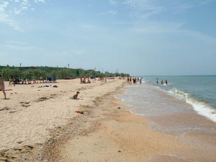 Станица Голубицкая на Азовском море