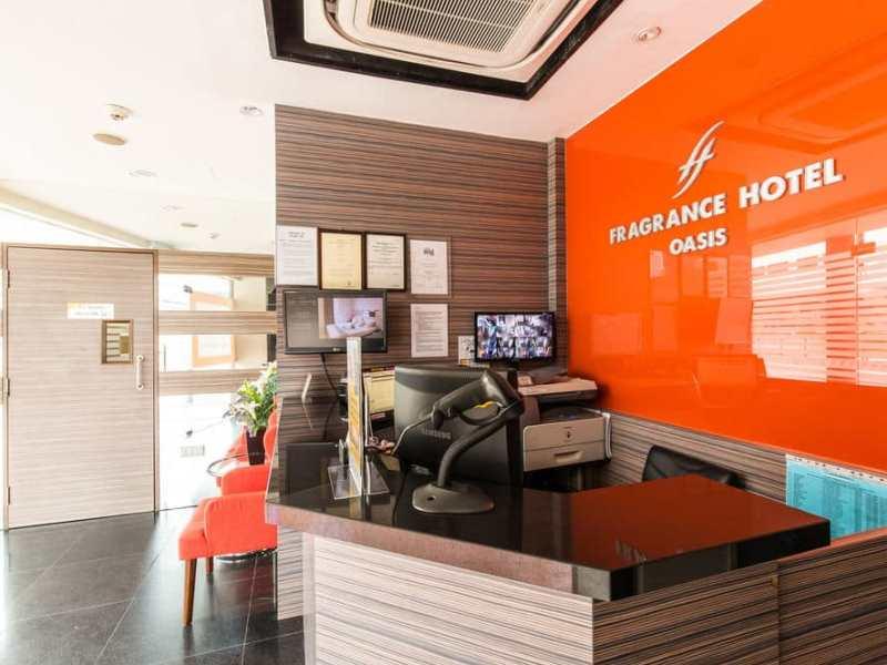 Фрагранс Отель Оазис на Сингапуре