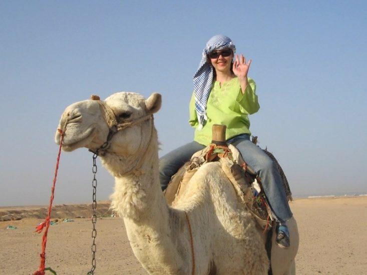 Экскурсия в Египте на верблюдах