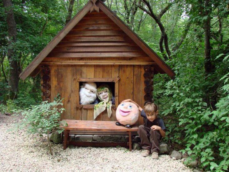 Этнографический детский парк «Добродея» в Анапе