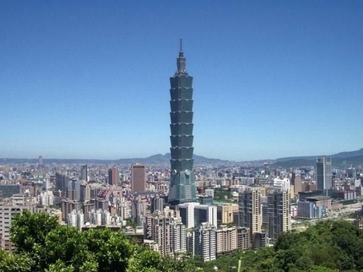 Небоскреб Тайбэй на Тайване