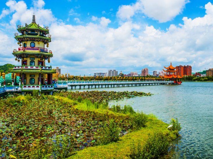 Озеро Чэнцин на Тайване