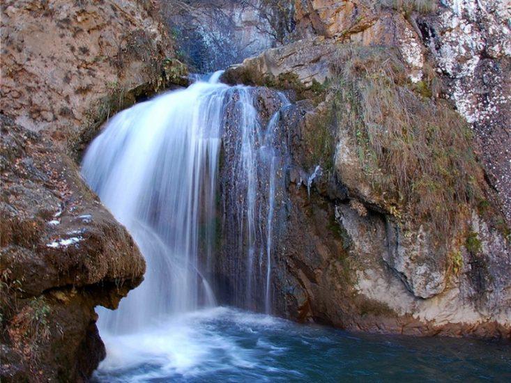 Водопад Жемчужный в Анапе